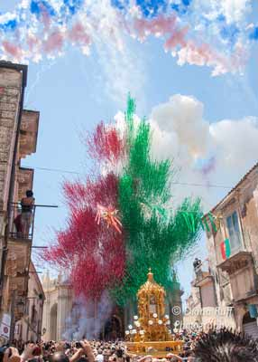 feast of san paolo, palazzolo acreide, Sicily